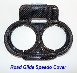 FLH Roadglide 09-13-Speedo-Instrument Cover-1 250