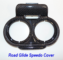 FLH Roadglide 09-13-Speedo-Instrument Cover-1 250