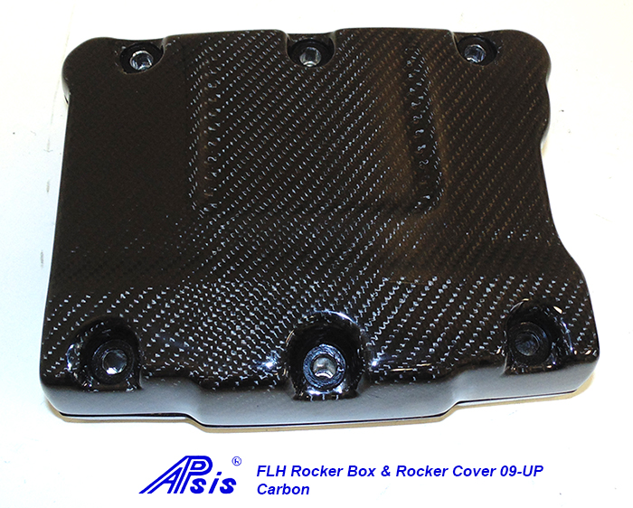 FLH Rocker Box+Rocker Cover-CF-individual-1