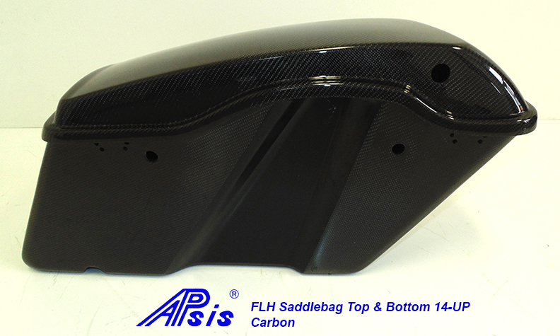 FLH Saddlebag 2014-Top+Bottom-CF-individual-7