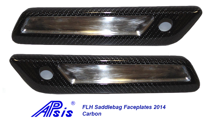 FLH Saddlebag Faceplate 2014-CF-pair-1