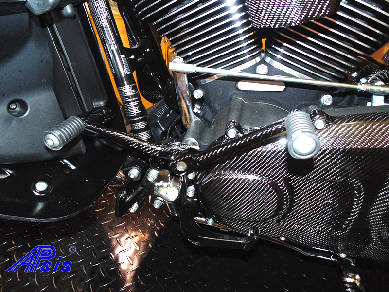 FLH Shift Lever-factory-installed-taken at warehouse-1