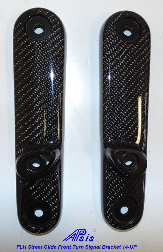 FLH Street Glide Front Turn Signal Bracket only-pair-1