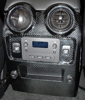 H2 Black CF-Rear Air Vent - 325
