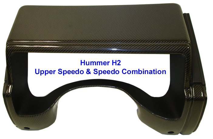 H2 Black CF-Upper Speedo & Speedo Combination 768