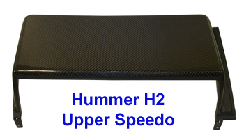 H2 Black CF-Upper Speedo only-350