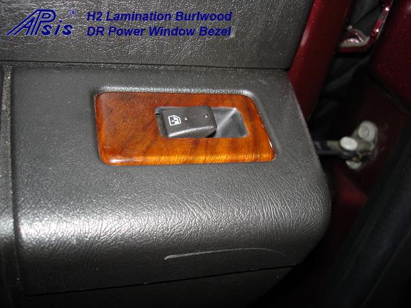 H2 Lamination Burlwood-installed-6-DR power switch bezel