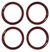 H2 Speaker Rings - mappa - 100 Red