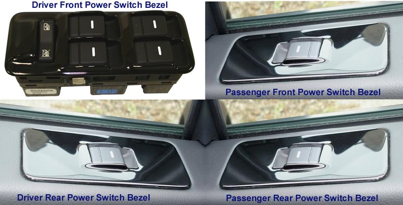 LR3-Black Piano-4 Power Switch Bezel-installed- 820