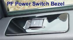 LR3 - Black Piano -PF Power Switch Bezel - Installed - 250