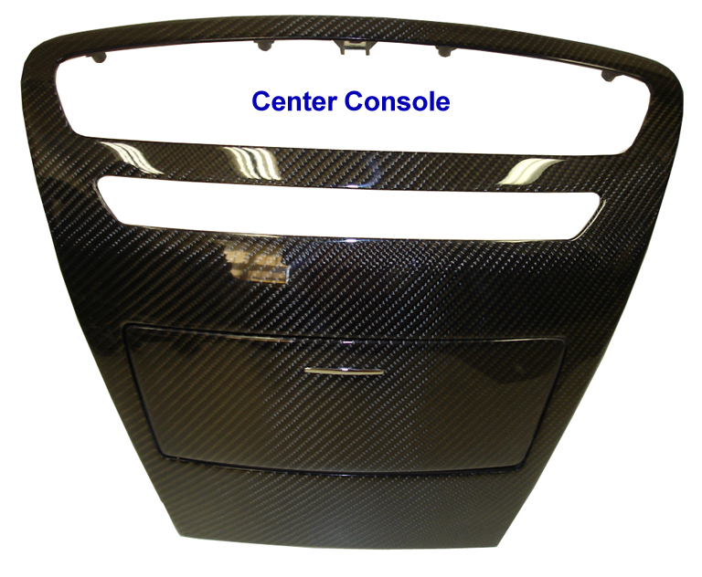 Mercedes CL63 AMG 07-UP - center console-  768