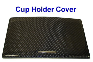 Mercedes CL63 AMG 07-UP - cup holder cover-  768