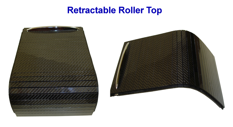 Mercedes CL63 AMG 07-UP - retractable roller top-  768