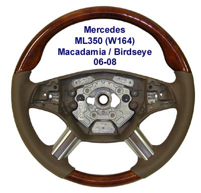 New ML350 (W164) 06-08-Macadamia-birdseye-400