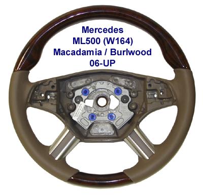 New ML500 (W164) 06-UP-Macadamia-burlwood-400