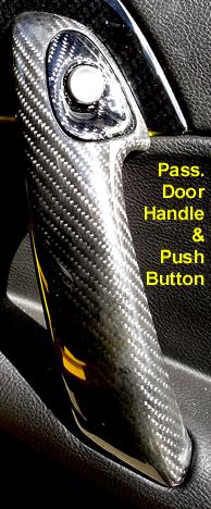 Pass Door Handle  & Push Button