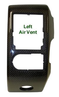 R.R. Lamination Black CF-Left Air Vent - 200