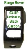 R.R. Lamination CF-Left Air Vent- 100