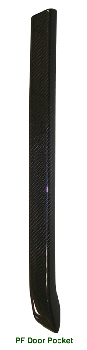 R.R. Lamination CF-PF Door Pocket - 100