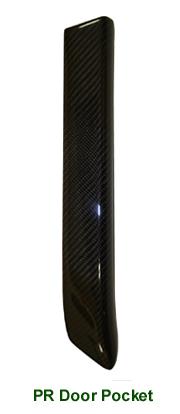 R.R. Lamination CF-PR Door Pocket - 100
