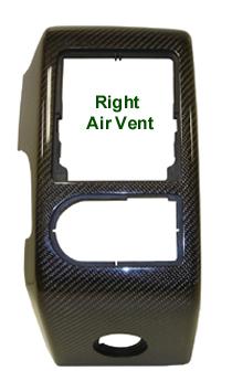 R.R. Lamination CF-Right Air Vent-   210