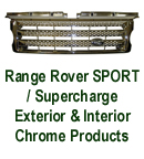 R.R. SPORT -Front Grille-chrome plated 130p 72P