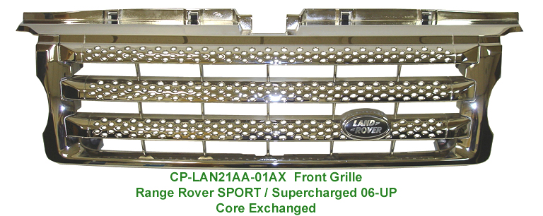 R.R. SPORT -Front Grille-chrome plated - 768p 72P