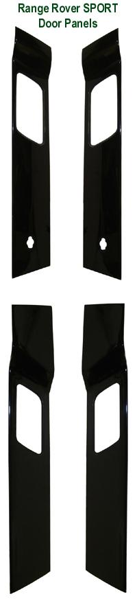R.R.SPORT-Black Piano Door Panels 72p 200