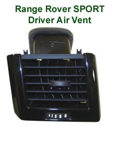 R.R.SPORT-Black Piano- Driver Air Vent - 230