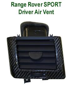 R.R.SPORT-BlackCF-Driver Air Vent- 230