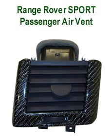 R.R.SPORT-BlackCF- Passenger Air Vent - 230