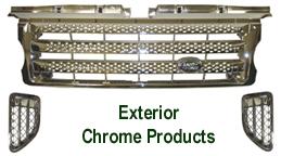 R.R.SPORT-Exterior Chrome-Front Grille & Side Air Vent-250
