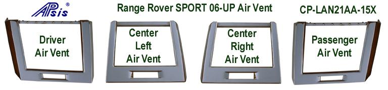 R.R.SPORT-Inteior Chrome-4 Air Vent- 768