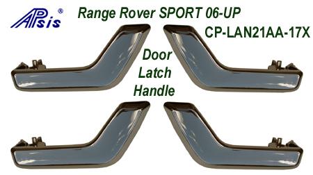 R.R.SPORT-Inteior Chrome-4 Door Latch Handle- 450