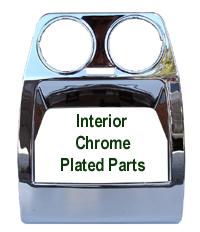 R.R.SPORT-Inteior Chrome-Rear Cup Holder-150