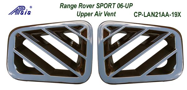 R.R.SPORT-Inteior Chrome-Upper Air Vent- 2pcs-set 600
