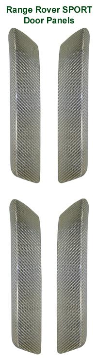 R.R.SPORT-Silver CF Door Handle  set 72p 200