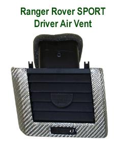 R.R.SPORT Silver CF-Driver Air Vent-230