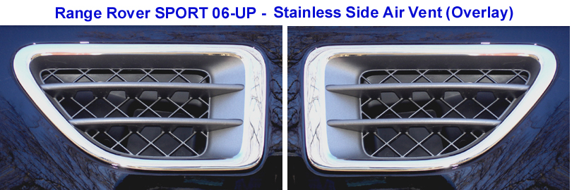 R.R.SPORT-Stainless Side Air Vent set -install-810
