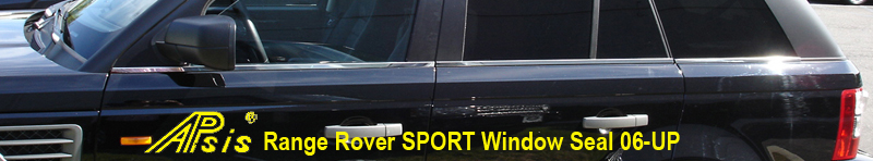 R.R.SPORT-Window Seal-stainless-installed-center view-800