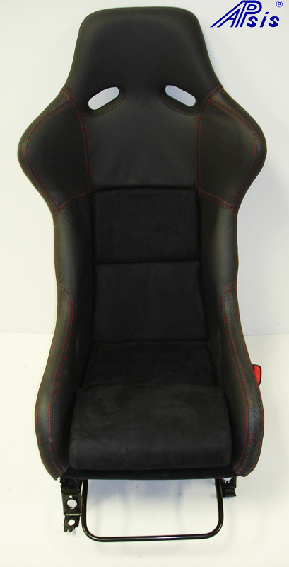 Race Seat mount on c5 rail-front view-1