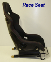 Race Seat mount on c5 rail-side view-1