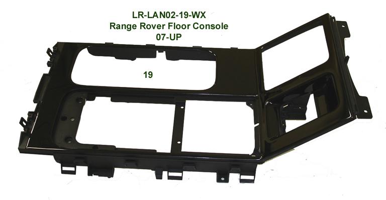Range Rover 07-UP-Floor Console-Black Piano-678