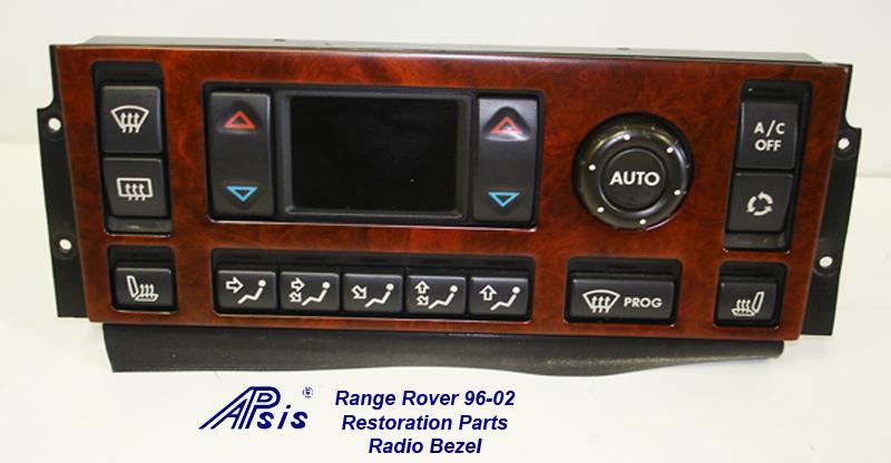 Range Rover 96-02-ac bezel-after restoration-1