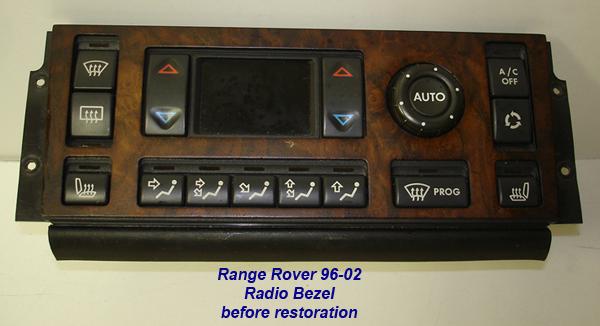 Range Rover 96-02-before lamination-ac bezel-1