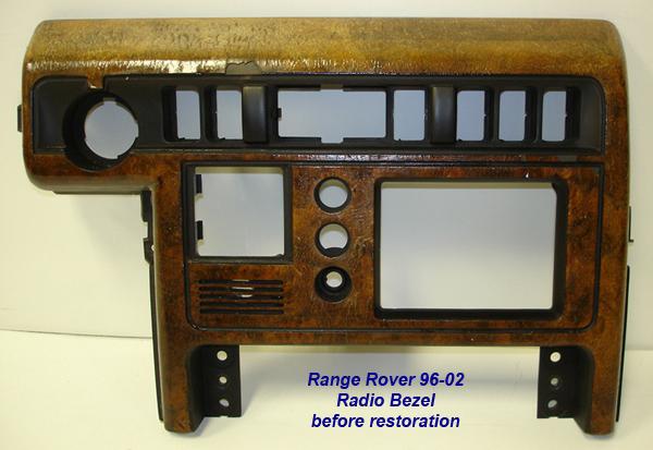 Range Rover 96-02-before lamination-radio bezel-1