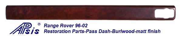 Range Rover 96-02-pass dash-after restoration-1