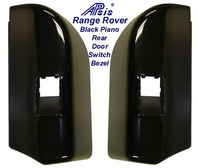 Range Rover Black Piano Rear Door Power Switch  Bezel