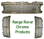 Range Rover Chrome Products - Front Grille & Side Air Vents 150