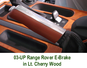 Range Rover Hand Brake only-Lt. Cherry - 300 w- description